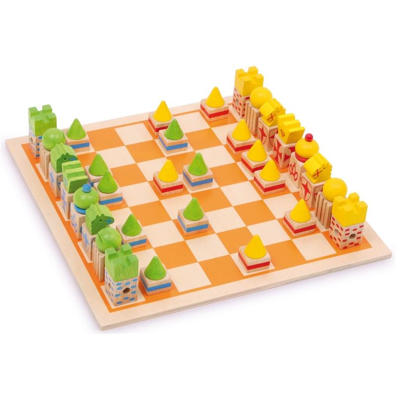 Schach mit Holzbox, von small foot
