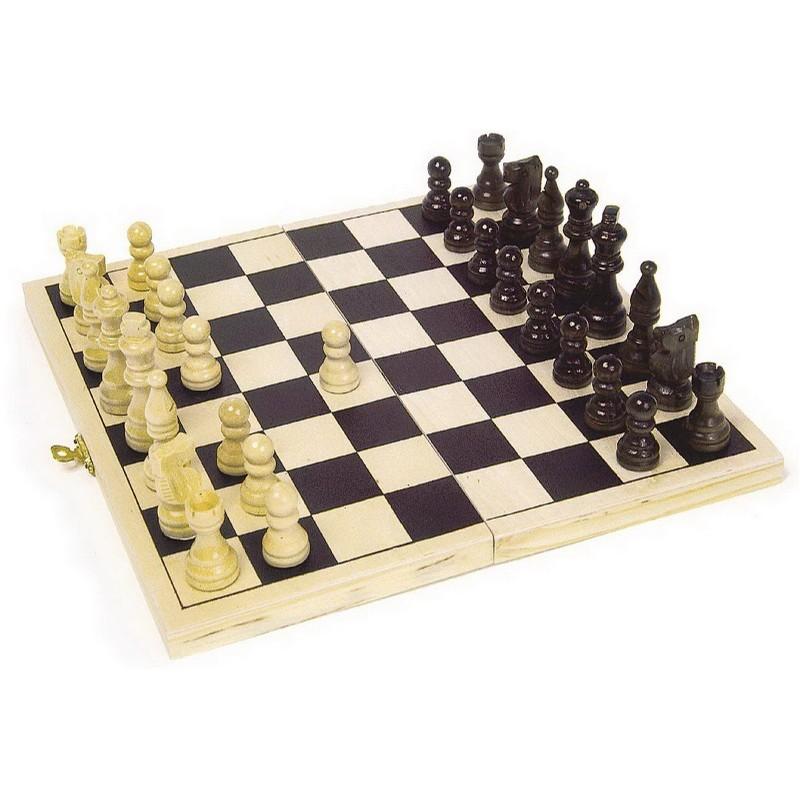 Schachspiel in klapp-Box, von small foot