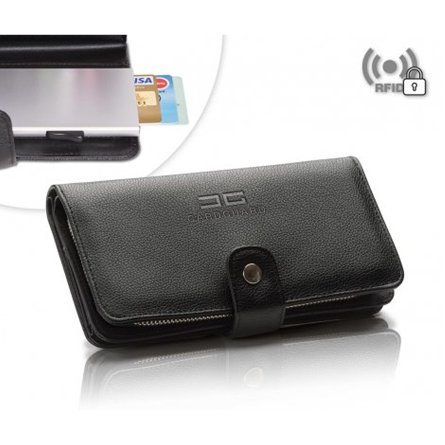 Card Guard, RFID Save Wallet, Large, BL
