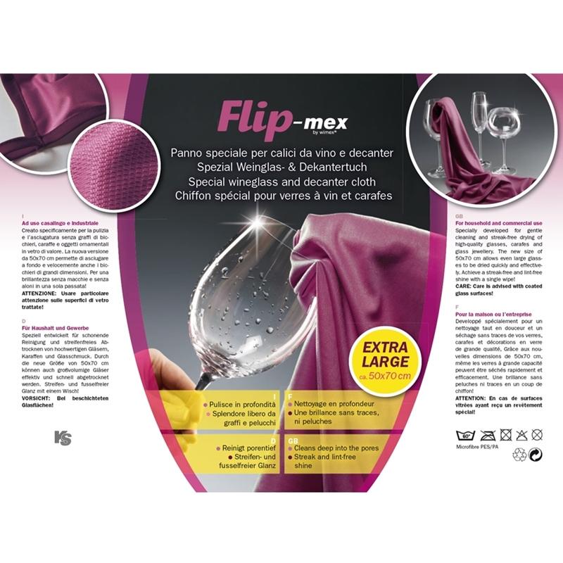 FlipMex Weinglas- und Dekantertuch