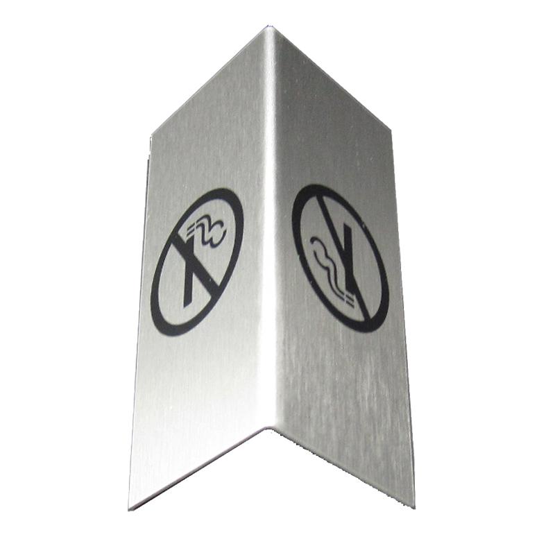 Tischaufsteller, Nichtraucher, Set 50Stk