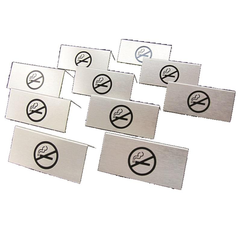 Tischaufsteller, Nichtraucher, Set 10Stk