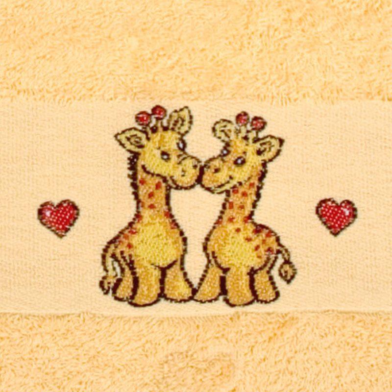 Giraffe BOBO Kapuzentuch 100x100cm
