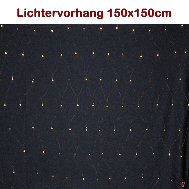 Leuchtnetz 1.5m, 96LED, Batteriebetrieb