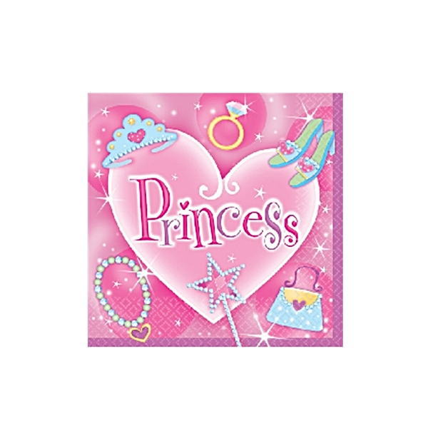 Servietten Princess (Pack mit 16Stk.)